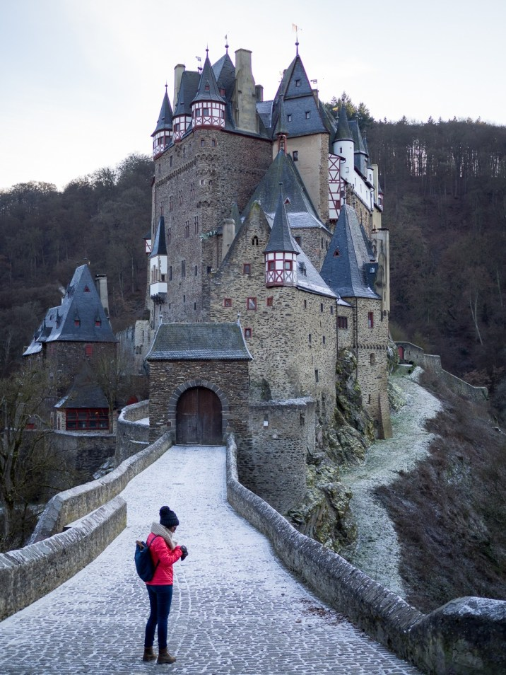 Germany Hochwald Eifel Travel Winter Burg Eltz Castle