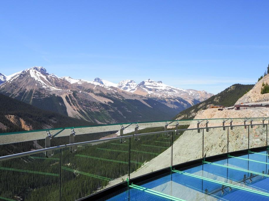 Canada Rocky Mountains Canadian Rockies Icefields Parkway Glacier Skywalk