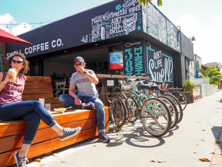 Travel San Diego California USA Swell Coffee Pacific Beach