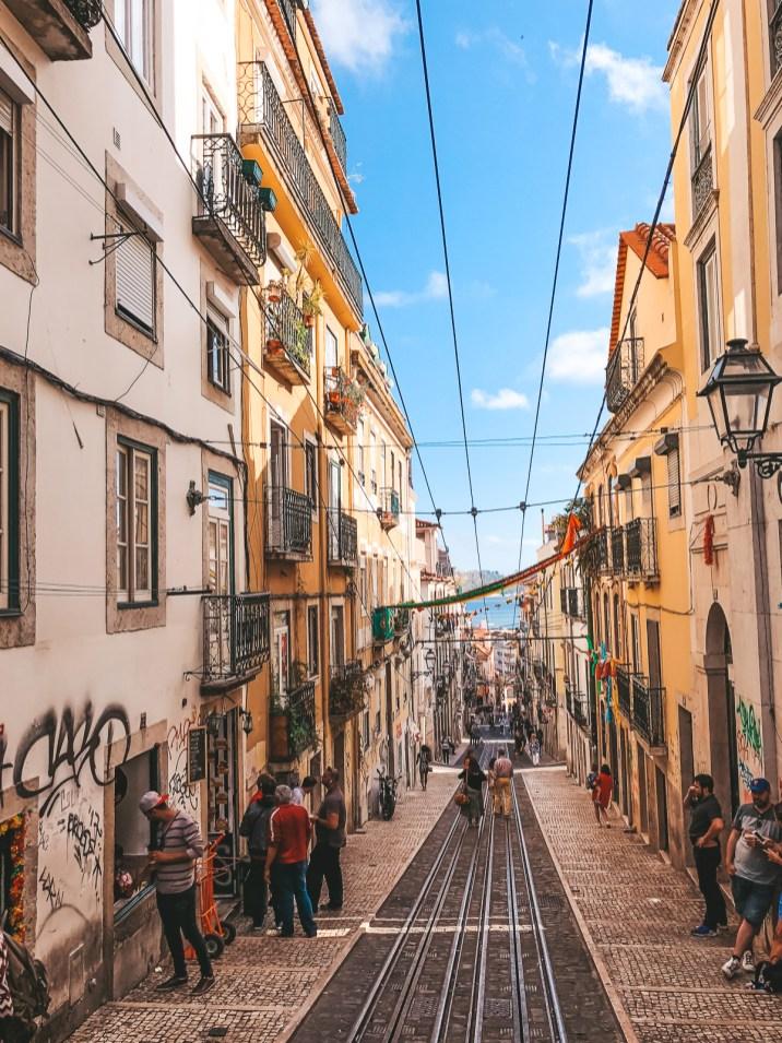 Lisbon Travel Citytrip Europe Portugal ascensor Bica