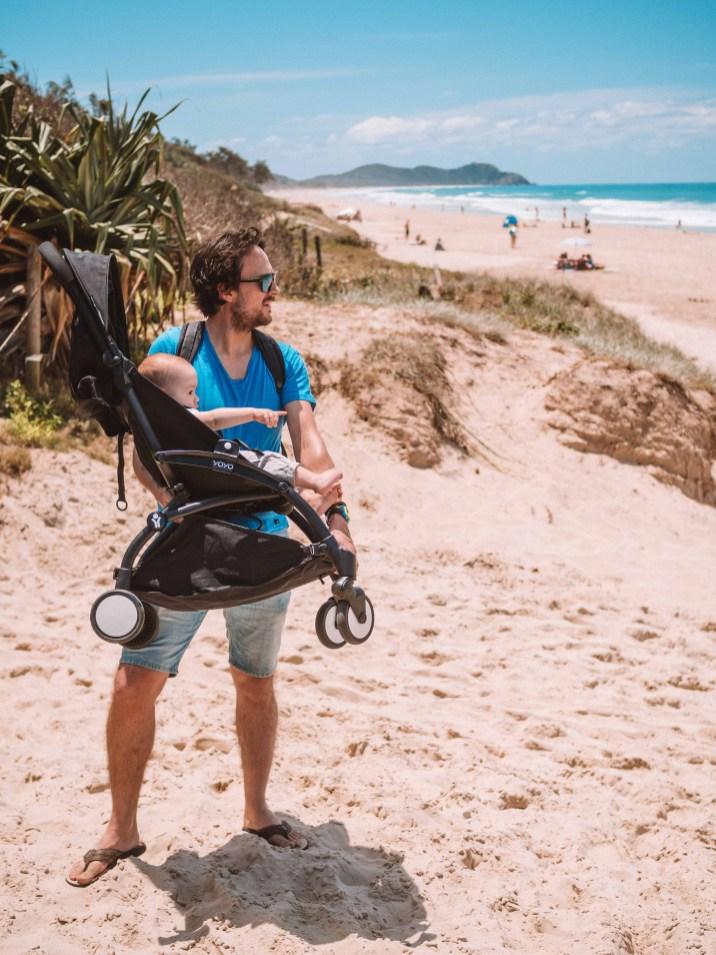 Australia, Flying, Sydney, Family Travel, Flying with kids, Byron Bay