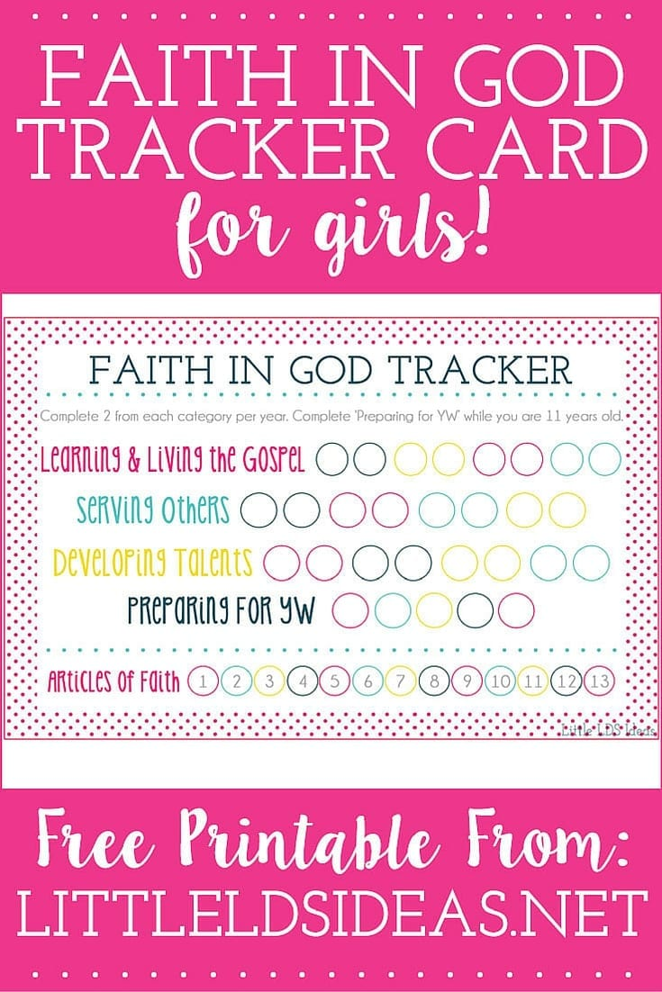photo about Articles of Faith Printable Cards titled Religion In just God Archives - Small LDS Guidelines