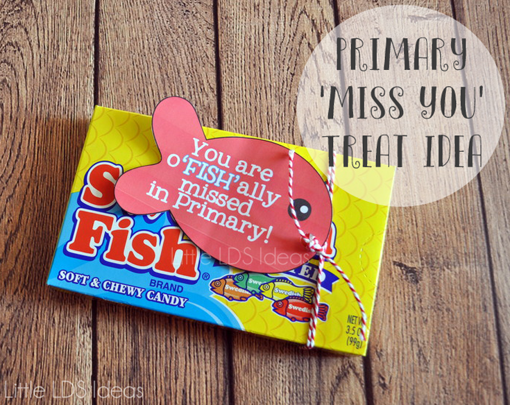 Miss You Swedish Fish Treat