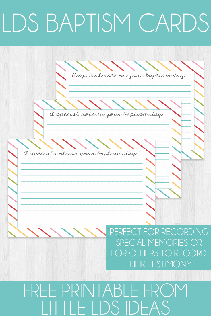 photograph regarding Printable Baptism Cards referred to as LDS Baptism Playing cards Absolutely free printable in opposition to Small LDS Tips