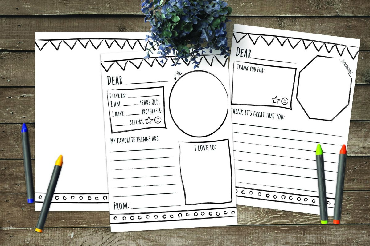 Thank You/Pen Pal Letter Stationery | Perfect for LDS Activity Days & Faith in God