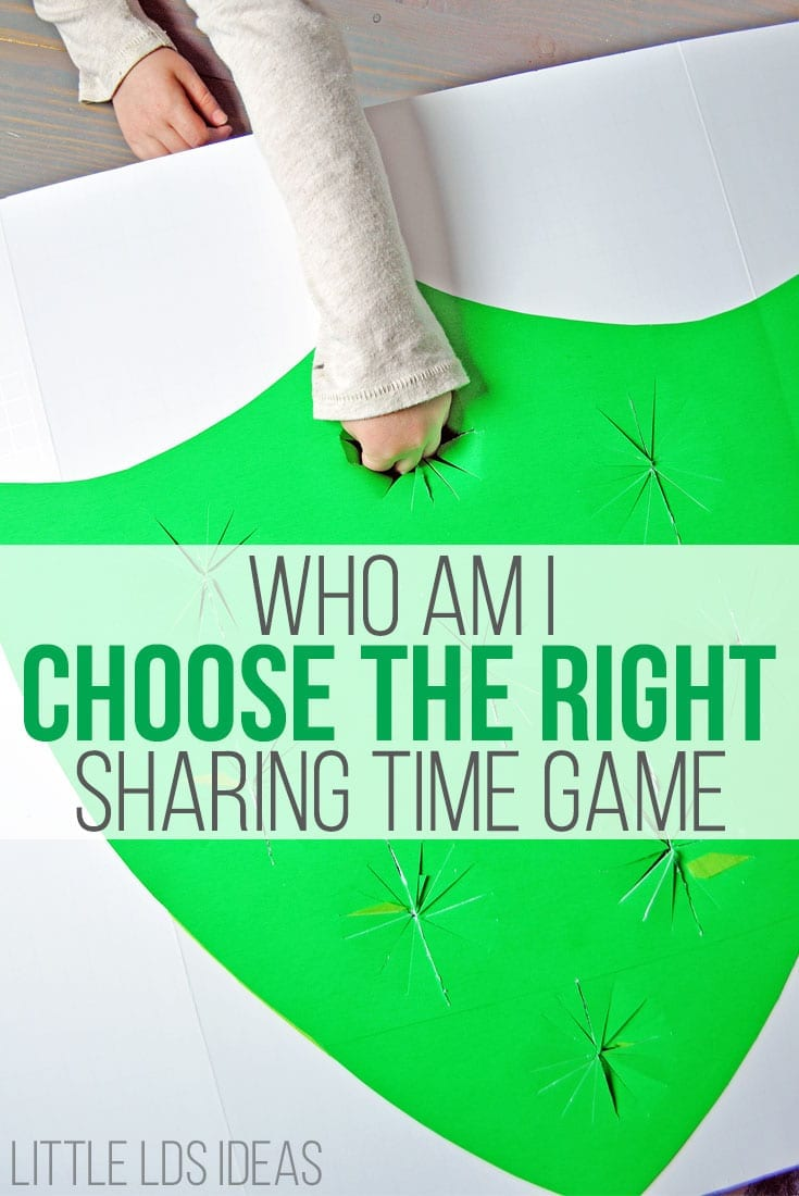 February 2017 Week 2 Sharing Time Idea. Jesus's Disciples Were Blessed by Choosing the Right. Great Sharing Time Idea from Little LDS Ideas