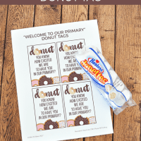LDS Primary Donut Tags