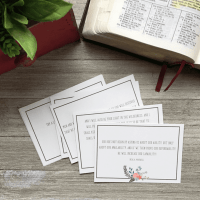 LDS Scripture Cards