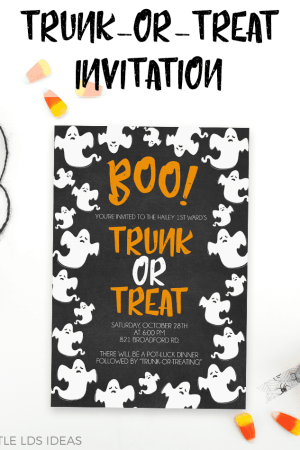 Trunk-Or-Treat Invitation Printable