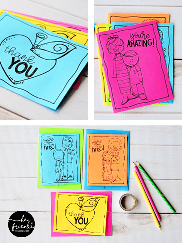 photo relating to Thank You Cards for Teachers Printable identify Instructor Thank Yourself Playing cards against Hey Close friend and Minor LDS Options