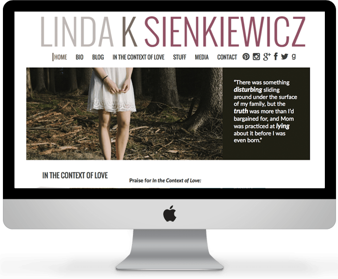 Linda Sienkiewicz // Author Website