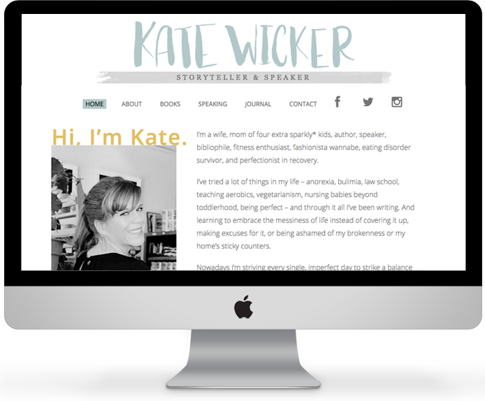 Kate Wicker // Writer and Speaker