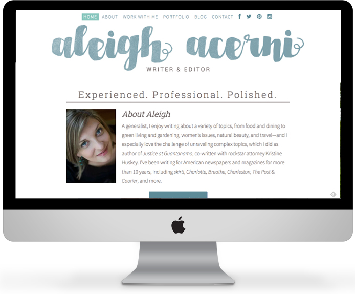Aleigh Acerni - Writer & Editor