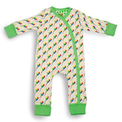 Kites Organic Baby Grow (Small) by LittleLeaf