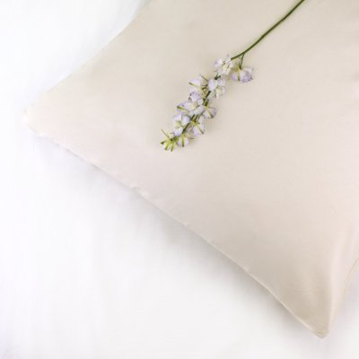 100% Organic Cotton Pillowcase Standard Style in a Natural Colour