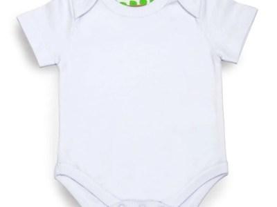 Organic Short Sleeved Bodysuit by LittleLeaf