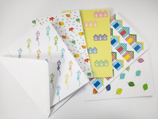 Littleleaf gifts cards 100% recycled and recyclable