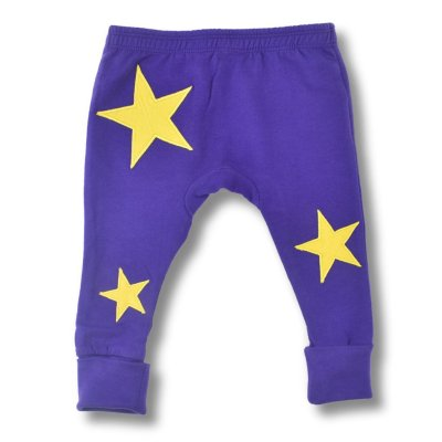 Organic Cotton Star Leggings By LittleLeaf Overview Picture