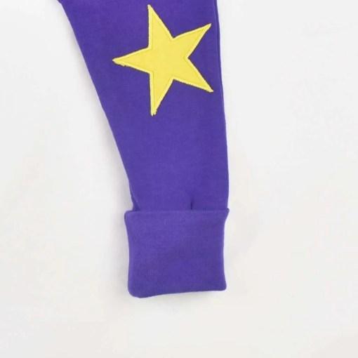 Star Leggings Footcuff Folded