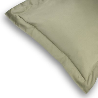 Olive Green Oxford Pillowcases by LittleLeaf Organics