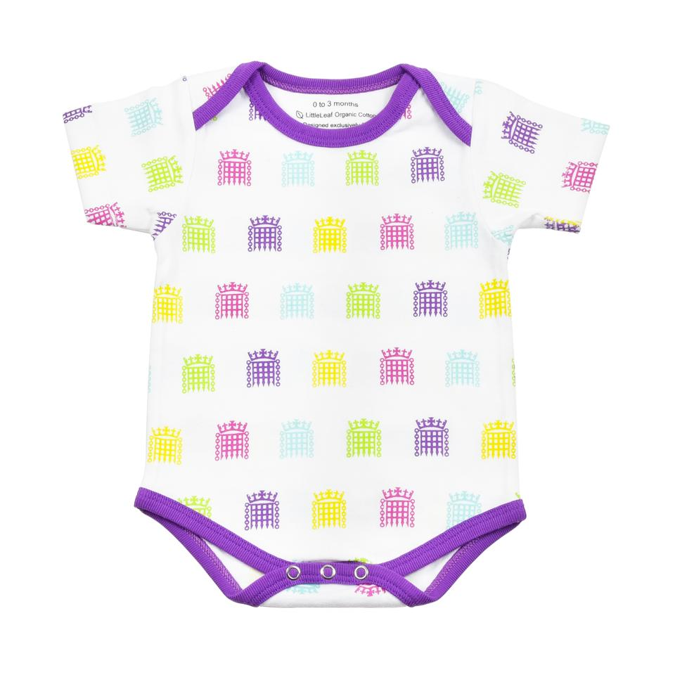 UK Parliament Portcullis Baby Bodysuit
