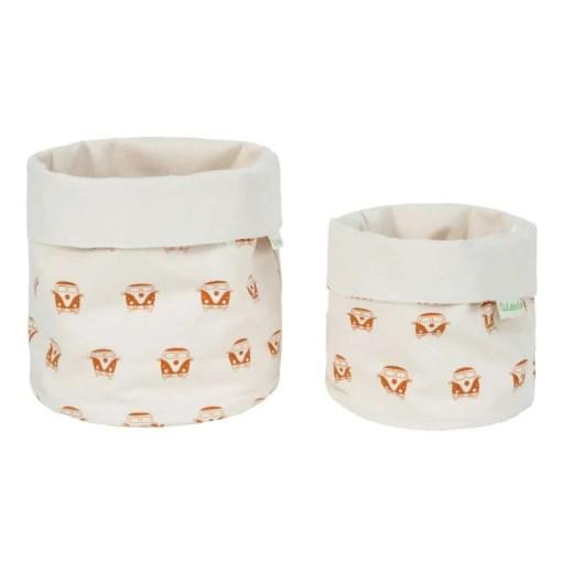 LittleLeaf Camper Van Fabric Pots