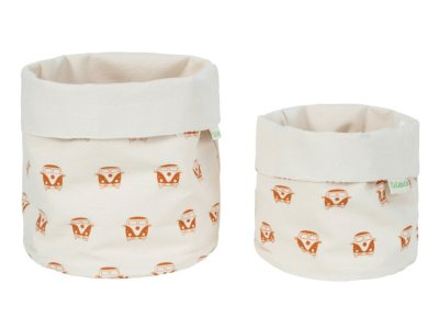 LittleLeaf Camper Van Fabric Pots