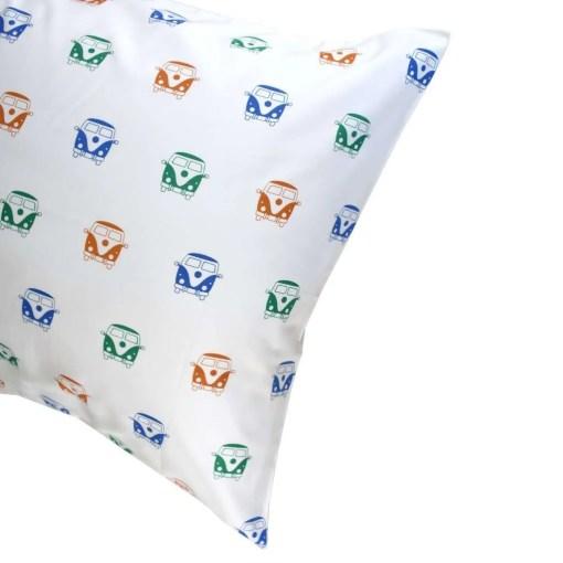 LittleLeaf Camper Van Pillowcase