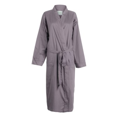 LittleLeaf Chocolate Plum Robe