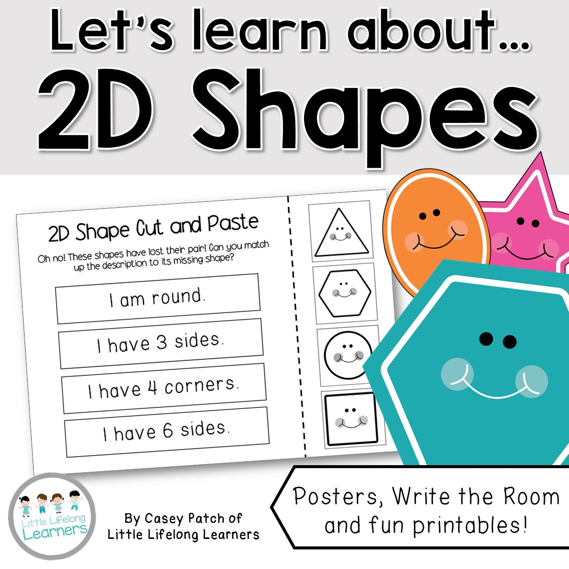 Let S Learn About 2d Shapes