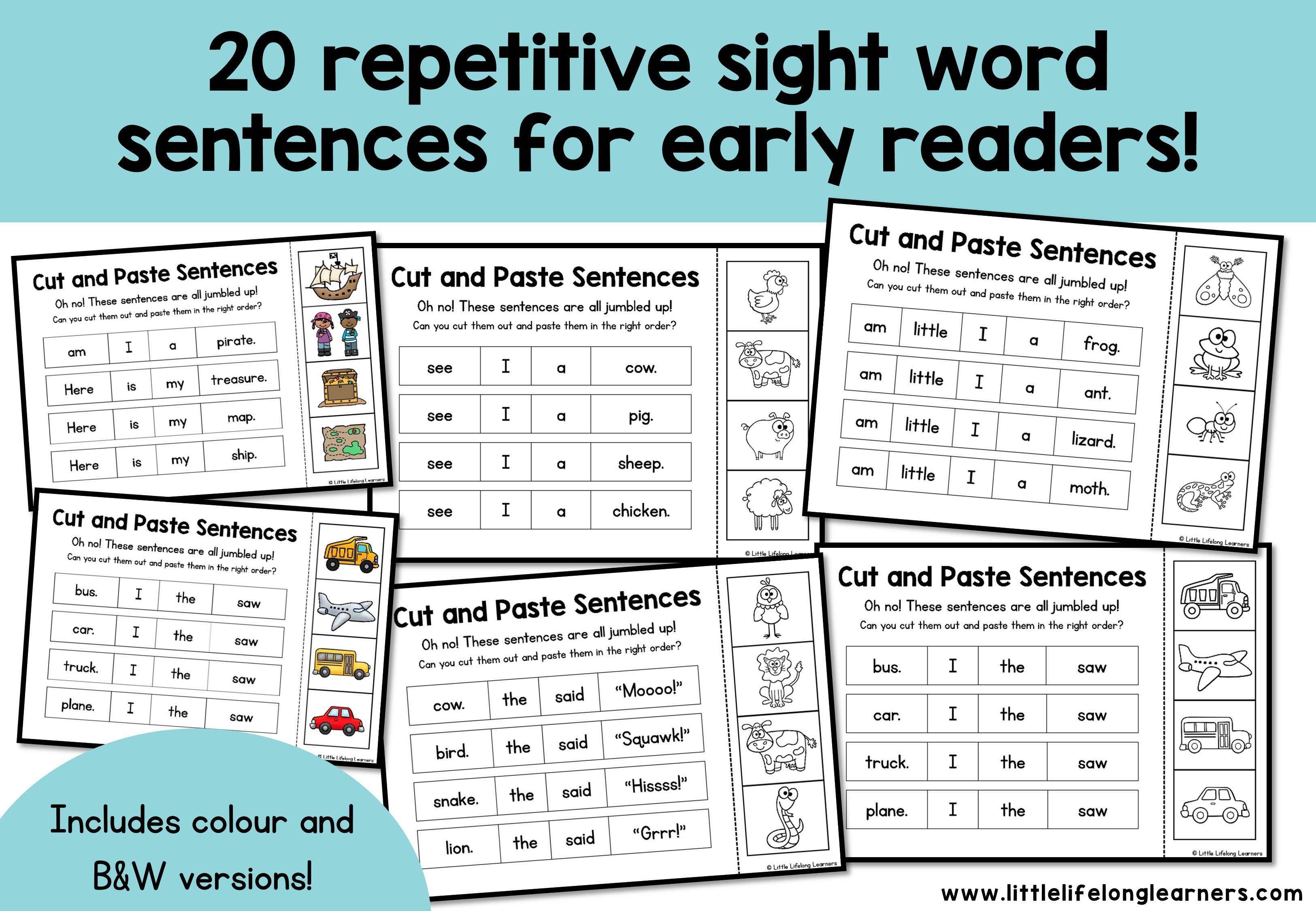 Sight Word Sentences