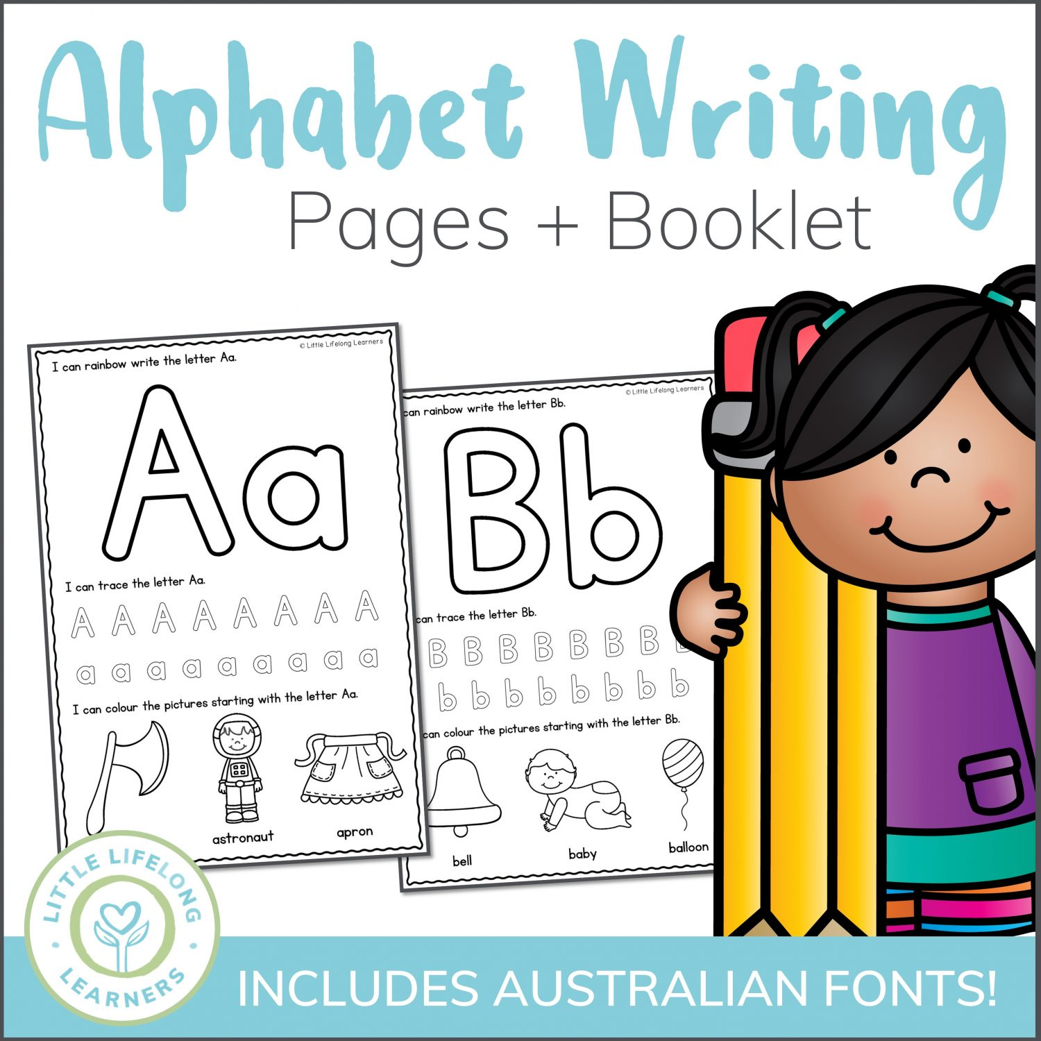 Alphabet Writing Worksheets
