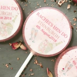 hen do lollipops