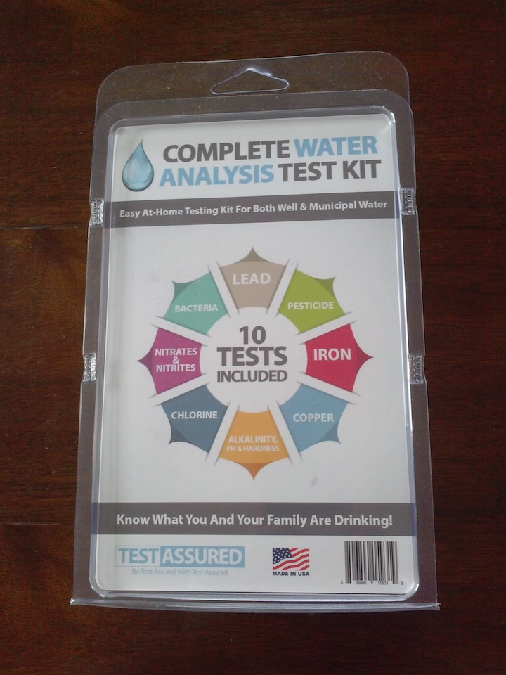 Have peace of mind by testing your water with this water analysis test kit.
