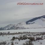 ice fishing Mackay Reservoir, Idaho