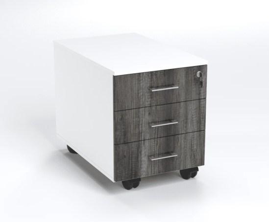3 Drawer Mobile Pedestal