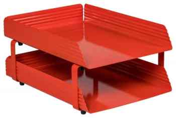 Fluted Steel Letter Tray – Tray Accessories, Stationery Accessories