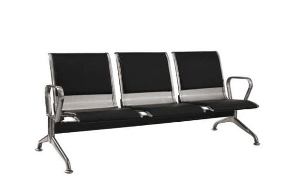 Stainless Steel Curved Bench