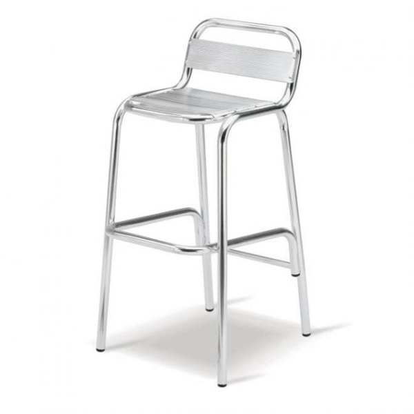 Cosmopolitan Aluminium Bar Chair