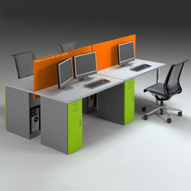 Budget Desk Fitted Screen