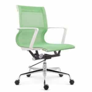 Setu Mesh Office Chair White Frame