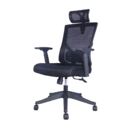 bentley ergonomic mesh back black