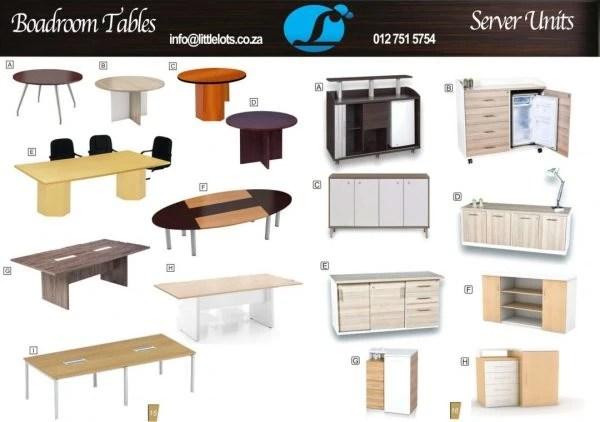 Boardroom Table-Server Units