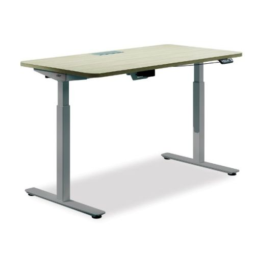 Electric Height Adjustable Table Wood Top