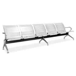 Silverline Bench L Shape Silver