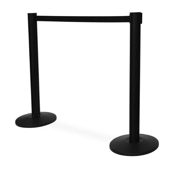 Black Queue Stands