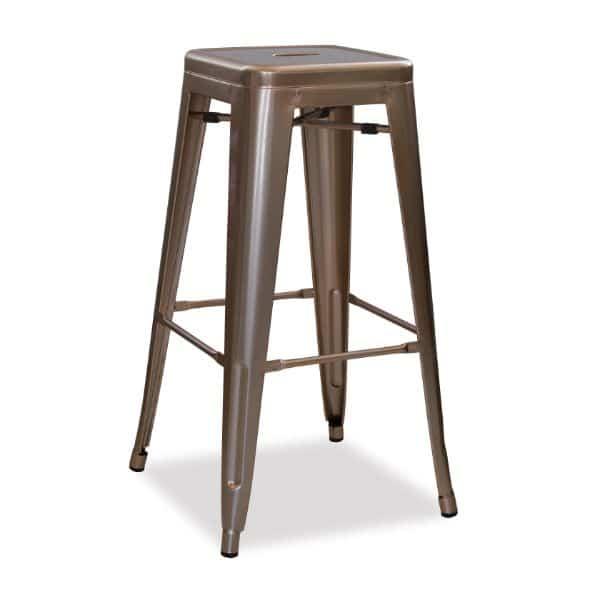 Retro Steel Bar Chair