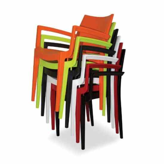 Wanda Stackable Plastic Chair – HEAVY DUTY 180KG
