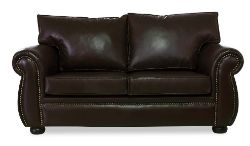 Lima double Genuine Leather Couch