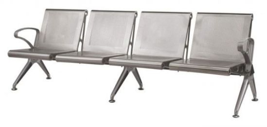 Airport Seating – Die Cast Aluminium Silverline